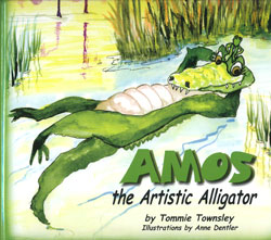 Storytime: Amos the Artistic Alligator by Tommie Townsley