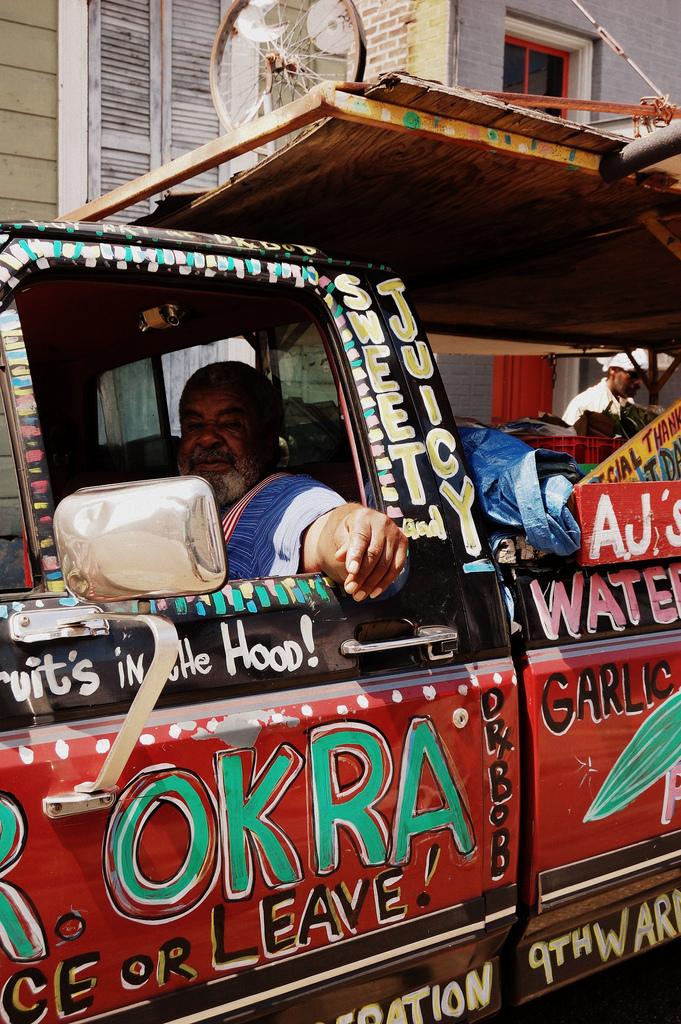 Photo of Mr. Okra by Miranda H., via Flickr Creative Commons