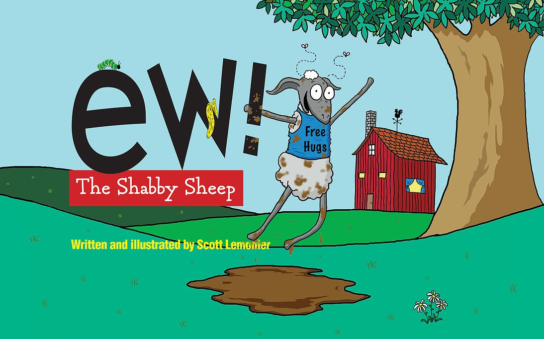 """Ew! The Shabby Sheep"""