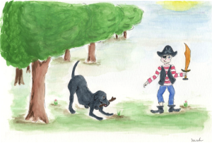 Kiki and Kevin, illustrated by Marguerite S. Hardy