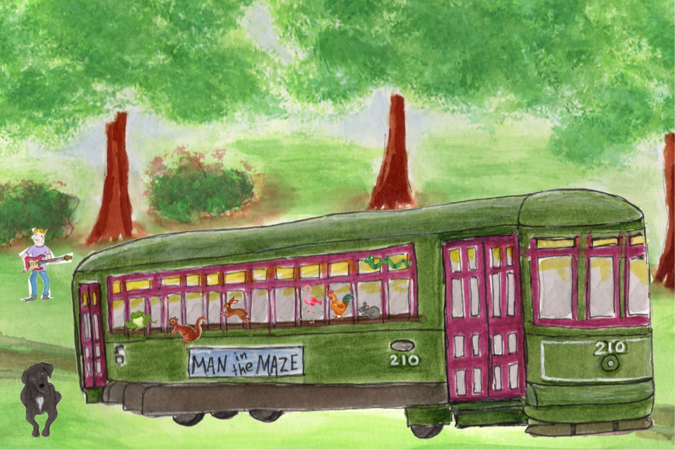 Kiko sees a streetcar, illustrated by Marguerite S. Hardy