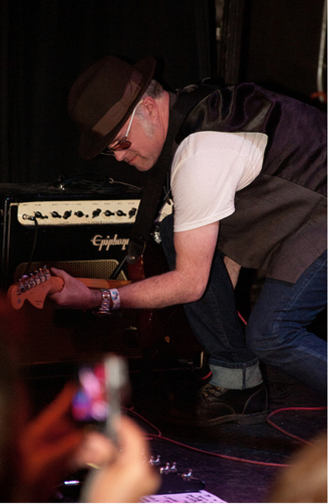 David Rosser on guitar. Photo by Sally Asher