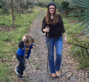 kat and louis hike