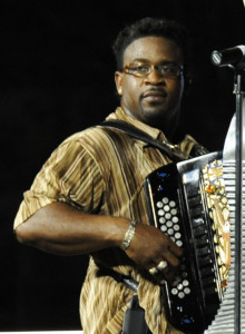 Anthony Dopsie of the Zydeco Twisters. Photo by Sally Asher
