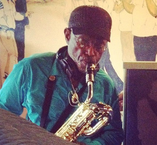 Roger Lewis, a well-respected New Orleans baritone saxophonist, plays on the Confetti Park children's CD.