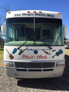 The Hungry for Music RV, a.k.a. the Magic Music Bus, is traveling the United States to share its mission.