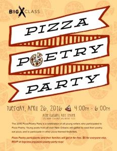 Pizza Poetry Project
