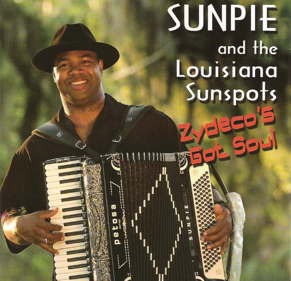 Sunpie Barnes CD cover