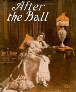 Sheet music for After the Ball