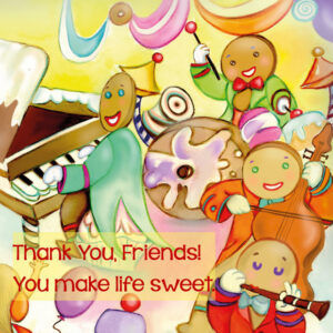 A Candy Land thank you