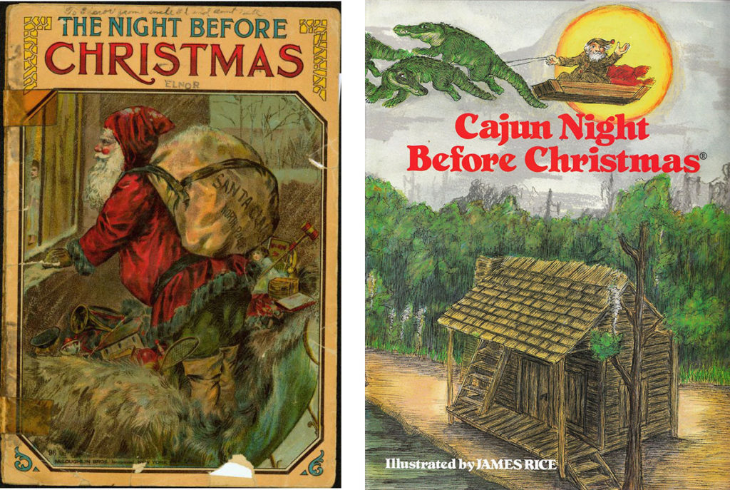 Night Before Christmas - two versions