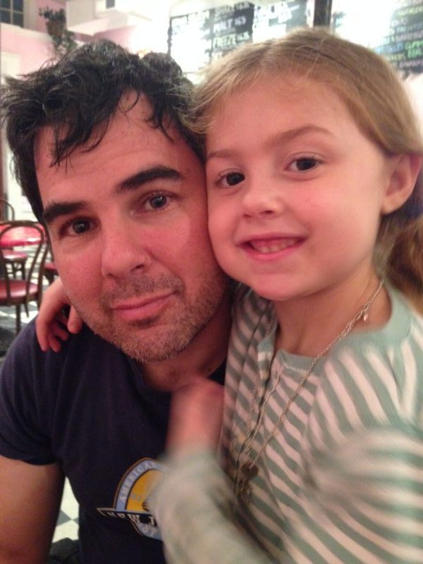 Andreas and daughter Ramona, who is already showing a love for songwriting