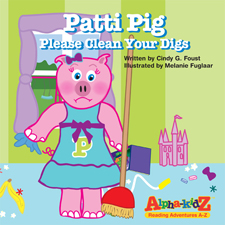 PattiPig Cover book cover