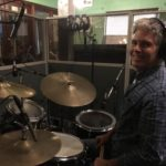 Cale Pellick at Word of Mouth recording studio