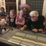 Tim Stambaugh and Confetti Park Players at Word of Mouth recording studio