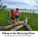 Cover, Riding on the Mississippi River