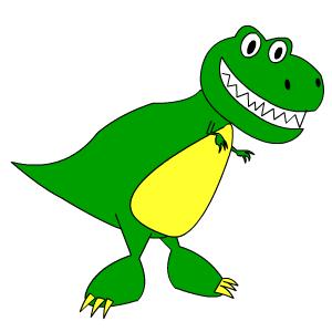 T-Rex says Roar!
