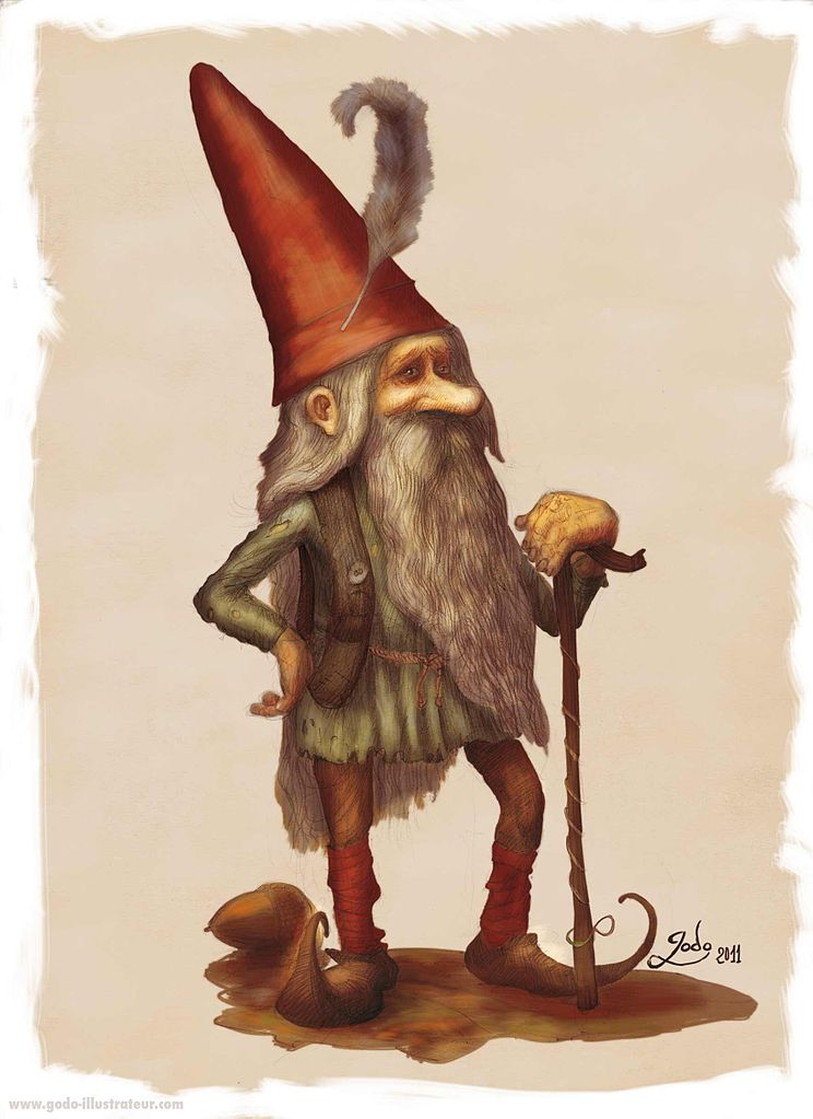 Le Lutin as created by artist Godo, used with Creative Commons license