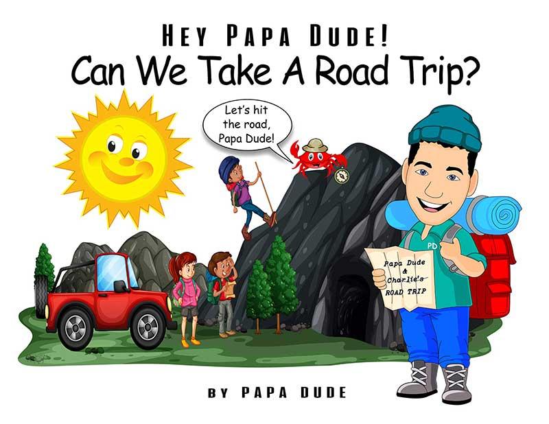 Papa Dude Road Trip book cover